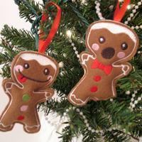 Gingerbread Ornament & Gift Jar_image