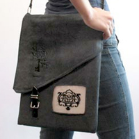 Lock & Key Laptop Case_image