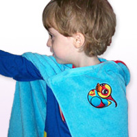 Superhero Towel Cape_image