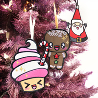 Kawaii Christmas Ornaments & Applique_image