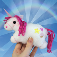 Tiny Plush Unicorn_image