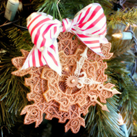 Clockwork Snowflake Ornament_image