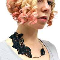 Lace Accent Necklace_image