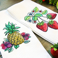 Stitching on Towels_image