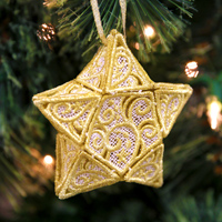 Lace Starlight Ornament_image
