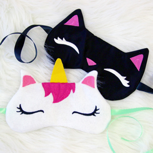 Sleepy Kitty Eye Mask_image