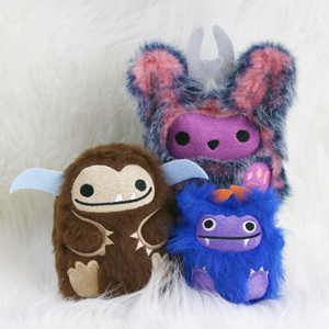 In-the-Hoop Fluffy Plushies_image