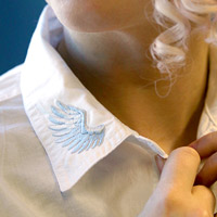 Embroidered Collar Tips_image