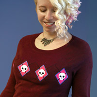 Applique Sweater Repeat_image