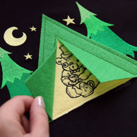 Pop-Up Applique Tent_image