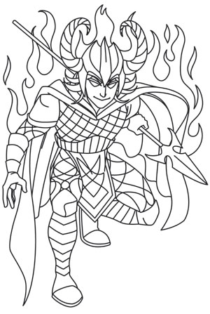 Norse mythology coloring pages learny kids for Norse mythology coloring pages