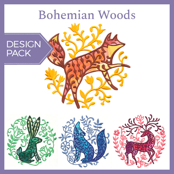 Bohemian Woods Design Pack Urban Threads Unique And Awesome