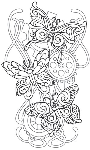 coloring pages urban art - photo#12