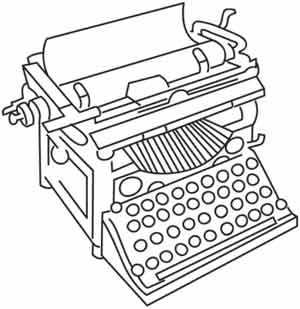 typing and coloring pages | Just My Type | Urban Threads: Unique and Awesome ...