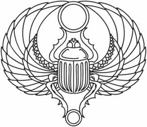 Scarab Urban Threads Unique And Awesome Embroidery Designs