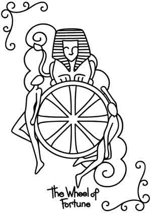 wheel of fortune coloring pages - photo#9