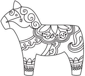 scandinavian flag coloring pages - photo#43