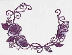 Briar Rose - Open Wreath_image