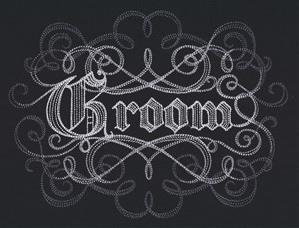 Calligraphic Groom_image