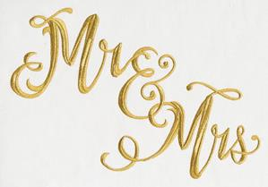 Mr. and Mrs. Script _image