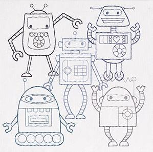 Creature Feature - Robot Party_image