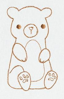 Friends Border - Bear_image