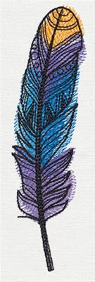 Doodle Feathers - Feather 1_image