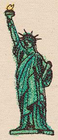 Passport to USA - Lady Liberty_image
