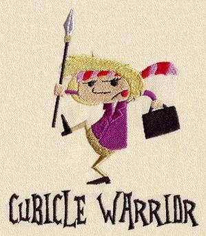 Ms. Cubicle Warrior_image