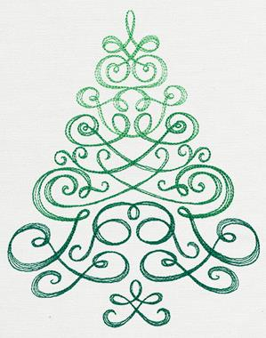 Delicate Christmas Tree_image