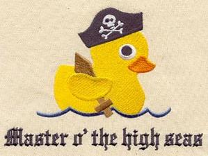 Rubber Duck Pirate_image