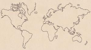 Wanderlust - World Map_image