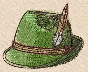 Passport to Germany - Alpine Hat_image