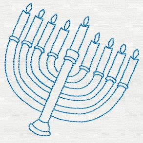 Hanukkah Treats - Menorah_image