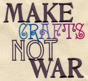 Make Crafts, Not War_image