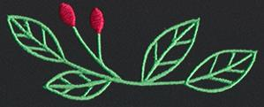 Chalkboard Christmas - Leaves_image