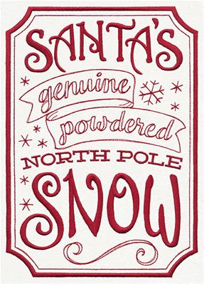 ApotheMerry - Santa's Genuine North Pole Snow_image