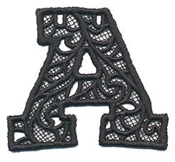 Bunting Letter A (Lace)_image