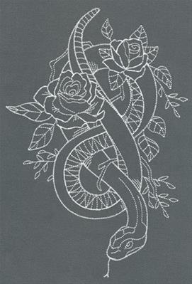 Chic Needlework - Snake_image