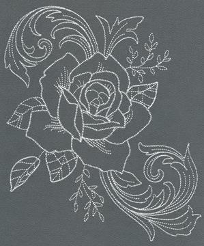 Chic Needlework - Rose Bloom_image