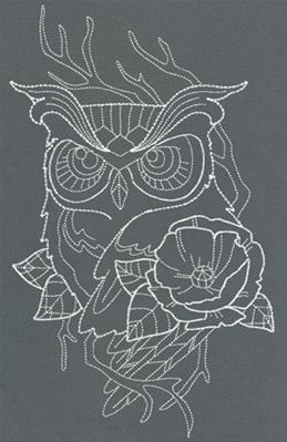 Chic Needlework - Owl_image