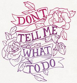 Girl Power - Don't Tell Me What to Do_image