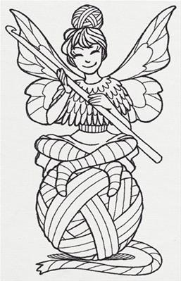Crocheting Fairy_image