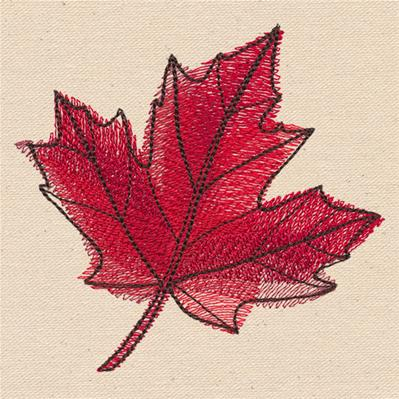 Passport to Canada - Maple Leaf_image