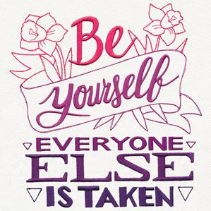 Be Yourself, Everyone Else Is Taken_image