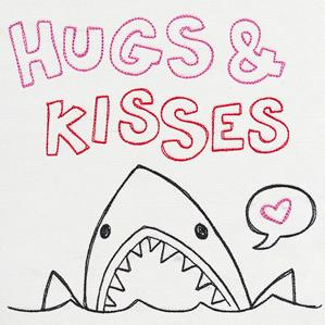 Fresh Tees - Hugs & Kisses_image