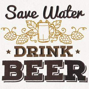 Craft Brew - Save Water, Drink Beer_image