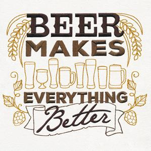 Craft Brew - Beer Makes Everything Better_image