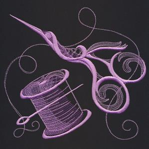 Artisan Crafts - Spool & Scissors_image