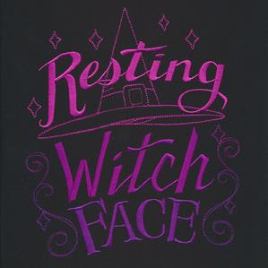 Supernatural Wit - Resting Witch Face_image